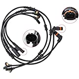 4 Pcs Front Rear Left Right ABS Wheel Speed Sensor For Mercedes Benz W164 ML350 ML320 R320