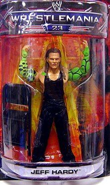 WWE Summer Slam Road to Wrestlemania 23 Exclusive Series 3 Action Figure Jeff Hardy by WWE