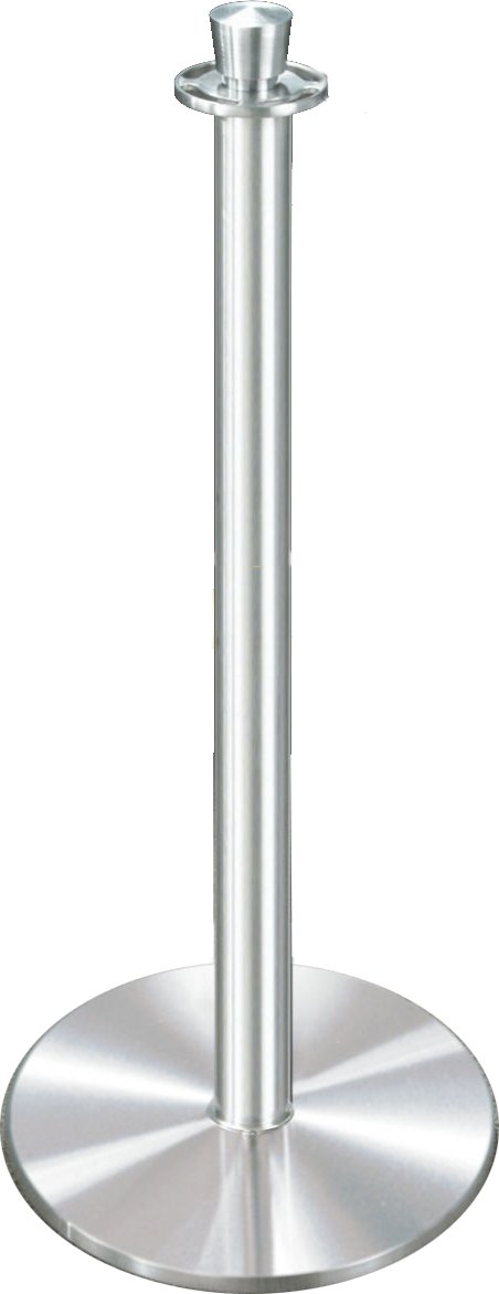 Glaro 1327SA Crown Top Stanchion - Satin Aluminum finish