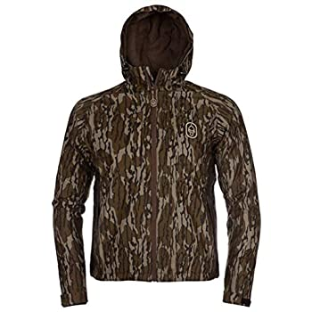 Image of Bottle Openers Hard Core Season Opener Full Zip Hooded Jacket (Mossy Oak Bottomlands, X-Large)