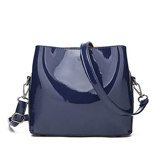 moda nero Trend Messenger verniciata cellulare in borsa tracolla mano pelle specchio Nuova cambio a qvOIT6wwz