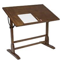 Studio Designs Vintage Drafting Table/Rustic Oak 13305