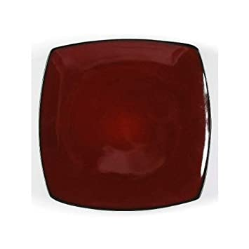 Gibson Soho Lounge Red Square Salad Plate - Set of 4  sc 1 st  Amazon.com & Amazon.com | Gibson Soho Lounge Red Square Salad Plate - Set of 4 ...