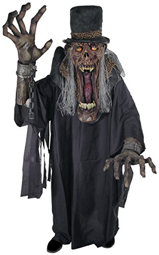 Shady Slim Creature Reacher Deluxe Oversized Mask and Costume ()