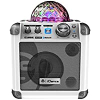 iDance BC100WHT Sing Cube Wireless Speaker (White)