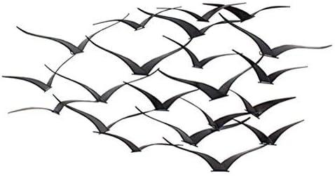 Aspire Darla Metal Birds Wall Decor, Brown