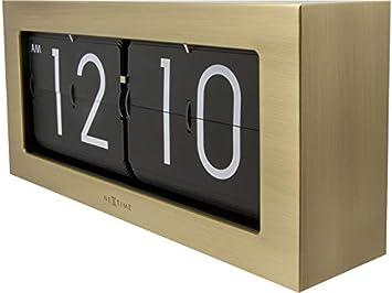NEXTIME 5198/GB Big Flip Orologio Metallo Oro 16,7/x 36/x 8,6/cm