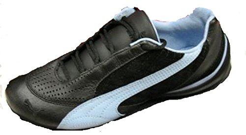 Puma Womens Wheelspin Shoes Black/Blue Size 8.5 yt55hyi1A