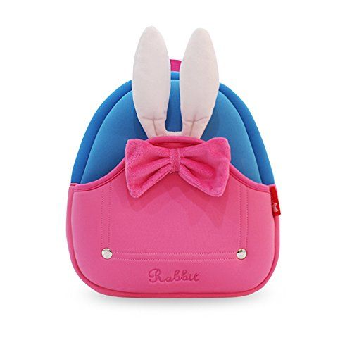 YISIBO Waterproof Kids Backpack 3D Rabbit Cartoon School Hiking Sidesick Bags