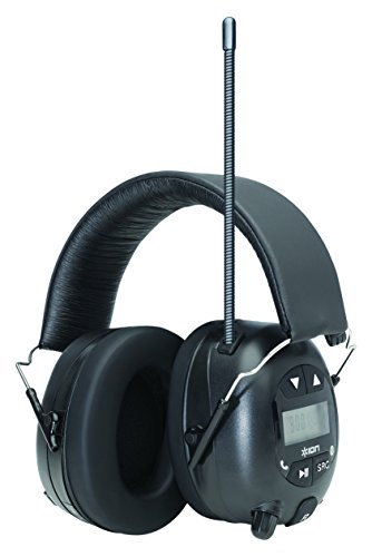 ion audio tough sounds hearing protection headphones with bluetooth and radio buy online in. Black Bedroom Furniture Sets. Home Design Ideas