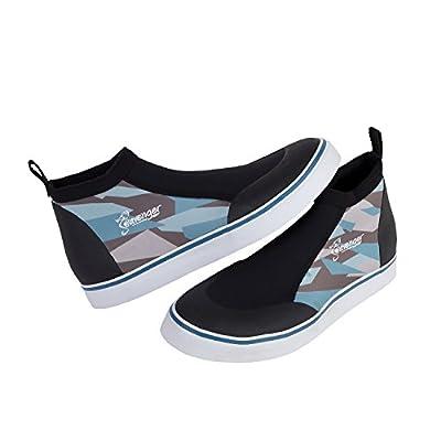 Seavenger Sneaker Style Aqua Shoes 3mm Neoprene Low Cut Snorkeling, Dive, Surf, Paddle Board, Rafting, Kayak, Water Boot