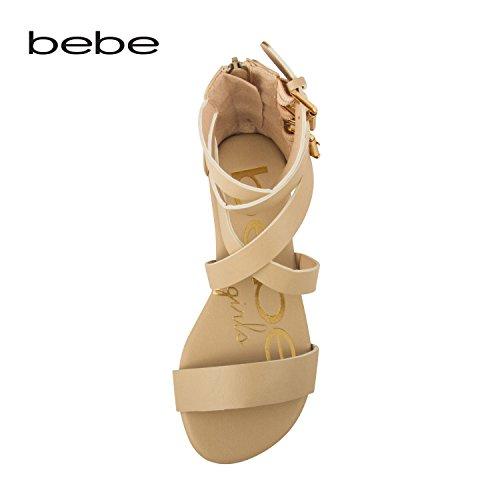bebe-girls-strappy-ankle-high-back-zipper-gladiator-sandals-5-6-tan