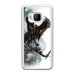 HTC One M9 Cell Phone Case White Transformers AS7YD3560324