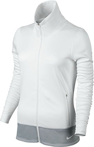 Nike Thermal Full Zip Golf Jacket 2015 Womens White X-Small by NIKE