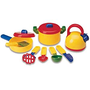 Learning resources pretend and play cooking set kitchen for Kids kitchen set canada