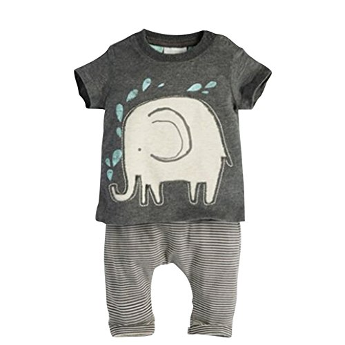 PanDaDa Striped T shirt Overall Outfis