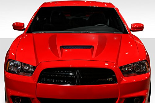 - Duraflex ED-GMF-692 SRT 2 Hood - 1 Piece Body Kit - Compatible For Dodge Charger 2011-2014
