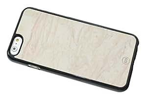 1888998654523 [Global Case] Mármol Piedra Cerámico Azul Playa Guijarro Marfil Rock Gris Elegante Lujo Prima Cristales Metamórfico (NEGRO FUNDA) Carcasa Protectora Cover Case Absorción Dura Suave para LG G4