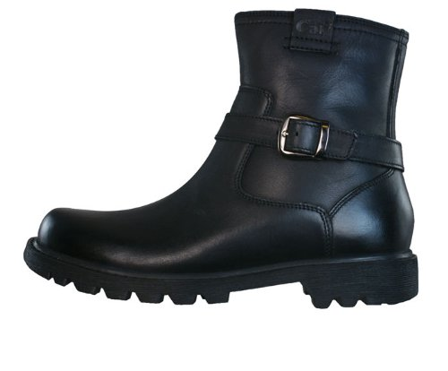 "Caterpillar Everyday 6"" Biker Womens Leather Boots - Black - SIZE US 5"