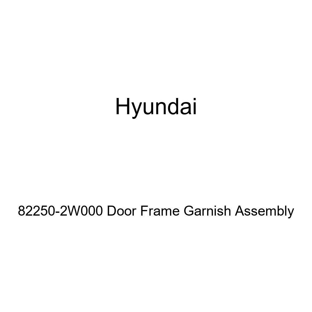Genuine Hyundai 82250-2W000 Door Frame Garnish Assembly