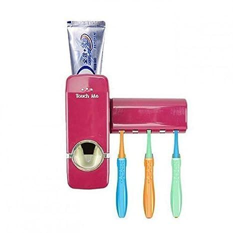 welim pasta de dientes exprimidor dispensador de pasta de dientes cepillo de dientes Holder Set plástico