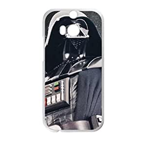 Darth Vader HTC One M8 Cell Phone Case White phone component AU_581499