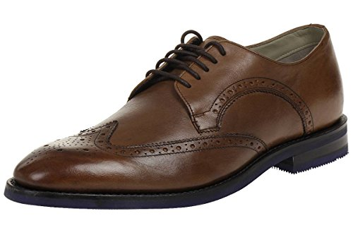 Clarks Swinley Limit Leather MenS Boots Leather Shoes Brown