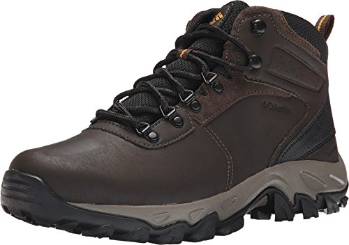 Columbia Men's MEN'S NEWTON RIDGE PLUS II WATERPROOF Boot, Cordovan, Squash, 17 Regular US by Columbia
