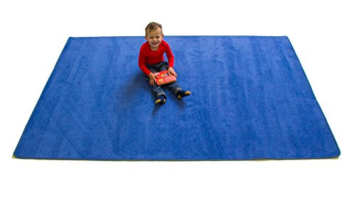 (Learning Carpets CPR553 - Solid Lake (Rectangular))