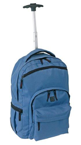 Inspiron Trolley-Rucksack 'Stylo' 600D blau, ca. 48 x 34 x 20/28 cm