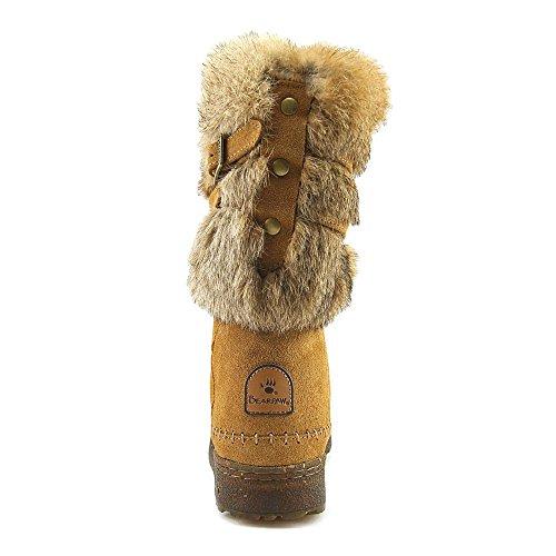Pictures of Bearpaw Kara Women Round Toe Fur Snow Boot 1939W Black 5