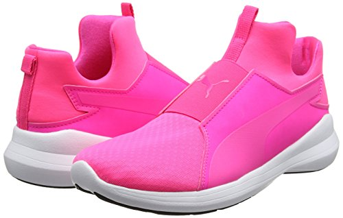 Mujer White 03 Zapatillas Rosa Wns Pink Mid puma knockout knockout Rebel Para Puma Pink q1nWSwZfTT