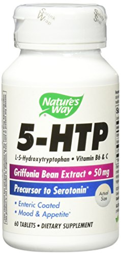 Way Natures 60 Tabs - Nature's Way - 5-HTP 50 mg 60 tabs(2 Pack)