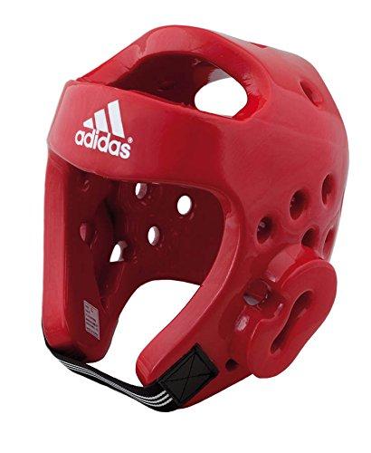 Adidas Kampfsport Taekwondo Schaumstoff Polster Kopfschutz - Andere, S, Rot