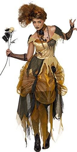 Smiffys Women's Dark Princess Costume (Dead Princess Halloween Costume)