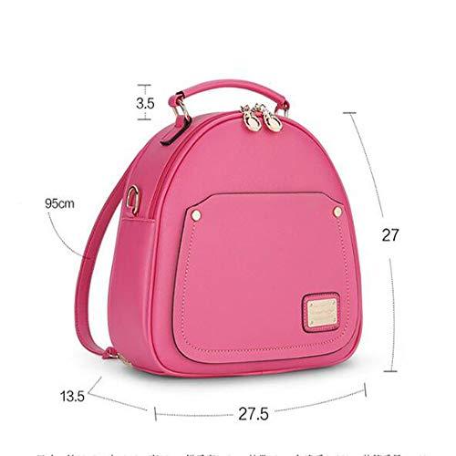 à Backpack Dos Tendance De étudiant Sac à Dos Femmes Rosered Des Sac La Mode q7zHxw5CI