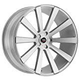 3 pieces 22 in rims - SPEC-1 Luxury SPL-002 Silver Brushed Wheels (22x9