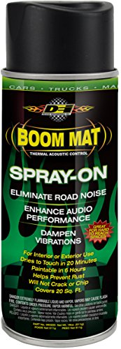 DEI 050220 Boom Mat Spray-on Sound Deadening to Reduce Unwanted Road Noise and (Star Racing Test Car)