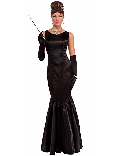 Forum Vintage Hollywood Collection High Society Lady Costume, Black, - Online Uk Tiffany