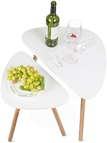 home, kitchen, furniture, living room furniture, tables,  nesting tables 8 discount HOMFA Nesting Coffee End Tables Modern Furniture Decor in USA