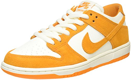 Nike Men's Sb Zoom Dunk Low Pro Circuit Orange/White Skate Shoe (9.5)