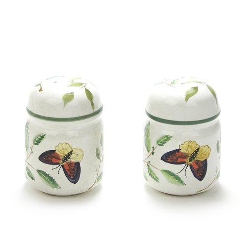 (Butterflies by Sakura, Stoneware Salt & Pepper)