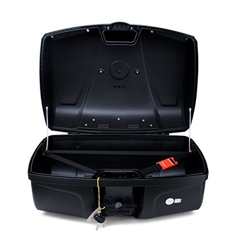 Autoinbox Universal Motorcycle Rear Top Box Tail Trunk