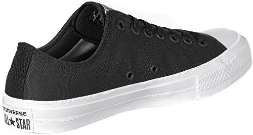 Ox CT Converse II a Basso Uomo Sneaker Nero Collo 16dEwSdq