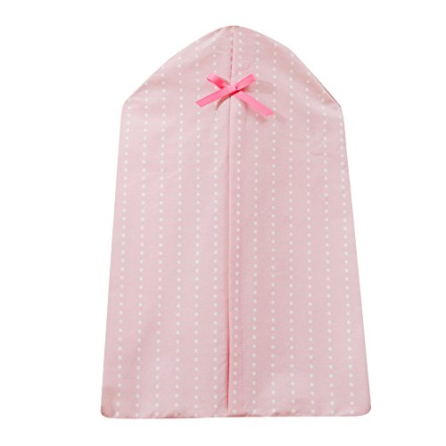 Bedtime Originals Twinkle Toes Bow Diaper Stacker, Pink/White