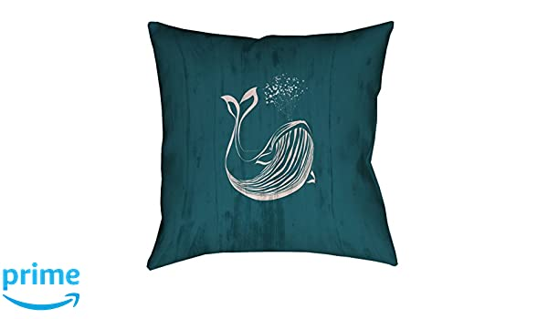 ArtVerse Katelyn Smith New Mexico Canvas 18 x 18 Pillow-Faux Linen Updated Fabric Double Sided Print with Concealed Zipper /& Insert
