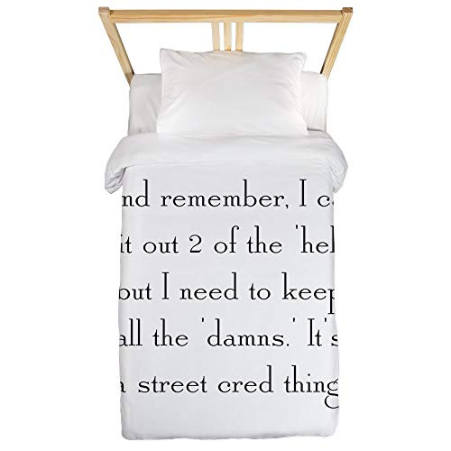 CafePress Street Cred Thing Twin Duvet Twin Duvet Cover, Printed Comforter Cover, Unique Bedding, Microfiber by CafePress