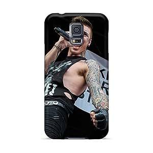 JonBradica Samsung Galaxy S5 Scratch Resistant Hard Cell-phone Case Allow Personal Design Beautiful Black Veil Brides Band BVB Series [HCv4835vqIz]
