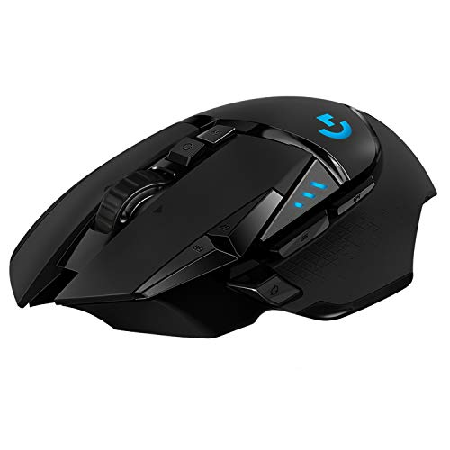 Logitech G502 Hero High Performance Wired Gaming Mouse, Hero 16K Sensor, 16,000 DPI, RGB, Adjustable Weights, 11…