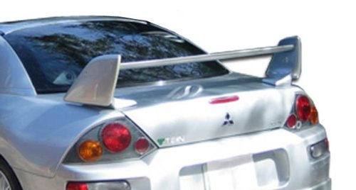 (Duraflex ED-HVH-681 Shock Wing Trunk Lid Spoiler - 1 Piece Body Kit - Compatible For Mitsubishi Eclipse 2000-2005)